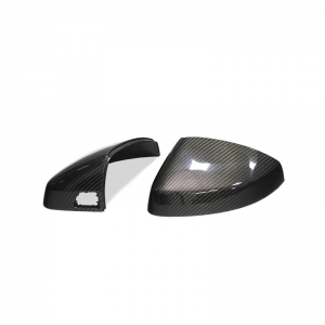 Carbon Fiber Mirror Caps With Lane Assist 1:1 Replacement for Audi A3 / S3 8V 2014 up