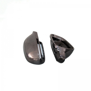 Carbon Mirror Caps for Audi A4 B8 2009-2012 A5 2007-2009 RS3 2012-2014 Replaced Side Mirror Cover