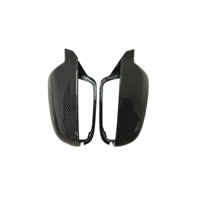 Carbon Mirror Caps 1:1 Replacement OEM Fitment Side Mirror Cover for Audi A3 new A4 A5 S5 2010-2016