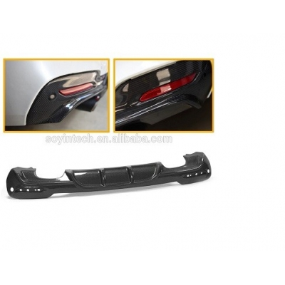 Carbon Fiber Car Rear Diffuser Lip Styling for BMW 3 Series GT F34 M Sport Bumper 4-Door 2014 -2017