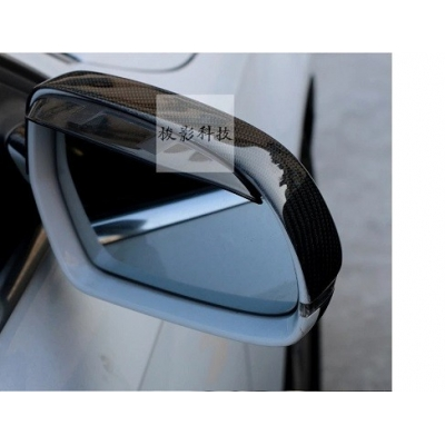 3D Sticker Rearview Mirror Car Carbon Fiber mirror replacement for Audi A3, A4,A6,A8