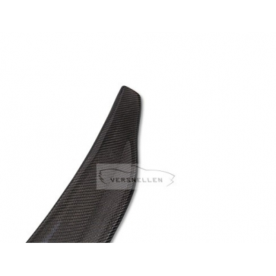 Factory direct Carbon fiber Rear Trunk Spoiler For Audi A4 B8 2009 2010 2011 2012 Carbon fiber wings 4 - Door Sedan